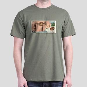 Mammouth ou Elephas Primigenius Dark T-Shirt