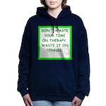 tennis Women's Hooded Sweatshirt