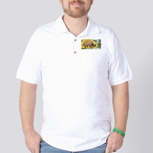 Glyptodon Typus Golf Shirt