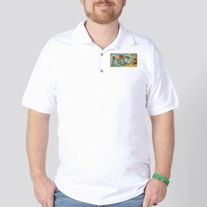 Scelidotherium Golf Shirt