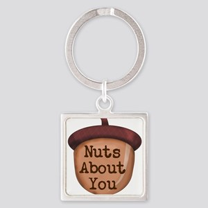 Nuts About You Acorn Keychains
