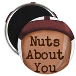 Nuts About You Acorn Magnets