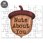 Nuts About You Acorn Puzzle