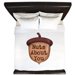 Nuts About You Acorn King Duvet