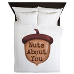 Nuts About You Acorn Queen Duvet