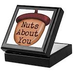Nuts About You Acorn Keepsake Box