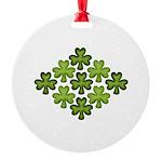 Shamrock Clover Green Ornament