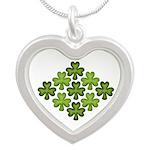 Shamrock Clover Green Necklaces