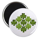 Shamrock Clover Green Magnets
