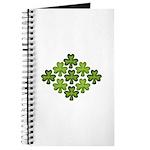 Shamrock Clover Green Journal