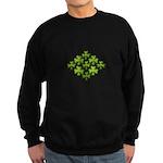 Shamrock Clover Green Sweatshirt