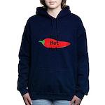 Hot Hot Hot Chili Pepper Women's Hooded Sweatshirt