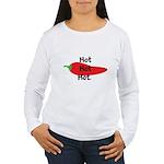 Hot Hot Hot Chili Pepper Long Sleeve T-Shirt