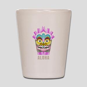 Aloha Hawaiian Tiki Party Shot Glass