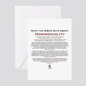 Homosexuality 2.0 - Greeting Cards (Pk of 10)