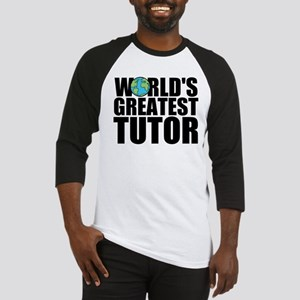 World's Greatest Tutor Baseball Jersey