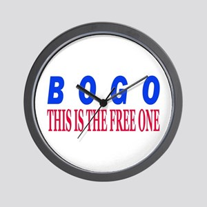 BOGO Wall Clock