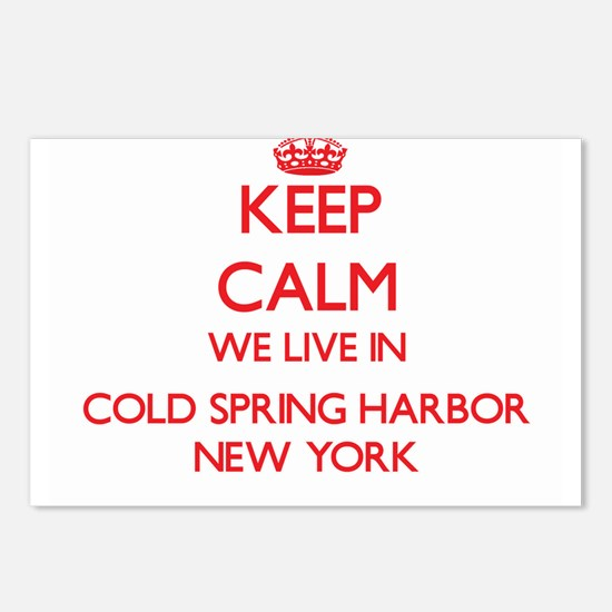 Keep calm we live in Cold Postcards (Package of 8)