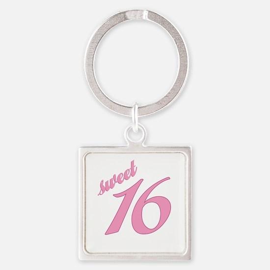 Sweet 16 Keychains