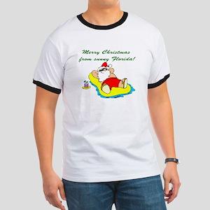 Christmas in Florida Ringer T