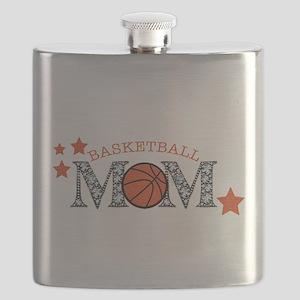 Basketbll Mom Flask