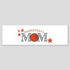 Basketbll Mom Bumper Sticker