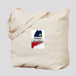 Maine Acadian State graphic Tote Bag