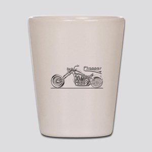 Motorcycle Shot Glass