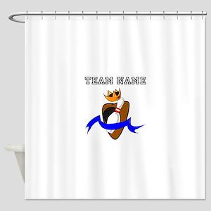 Kingpin Bowling Team Shower Curtain