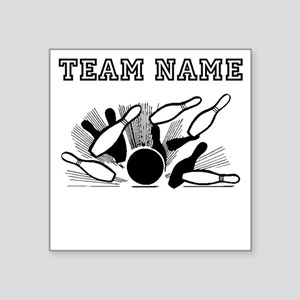 Strike Bowling Team Sticker