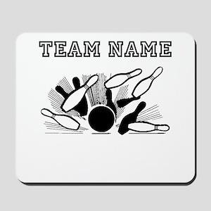 Strike Bowling Team Mousepad