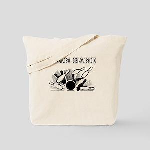 Strike Bowling Team Tote Bag