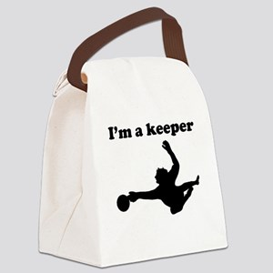 Im A Keeper Canvas Lunch Bag