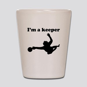 Im A Keeper Shot Glass