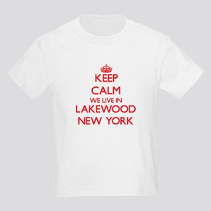 Keep calm we live in Lakewood New York T-Shirt