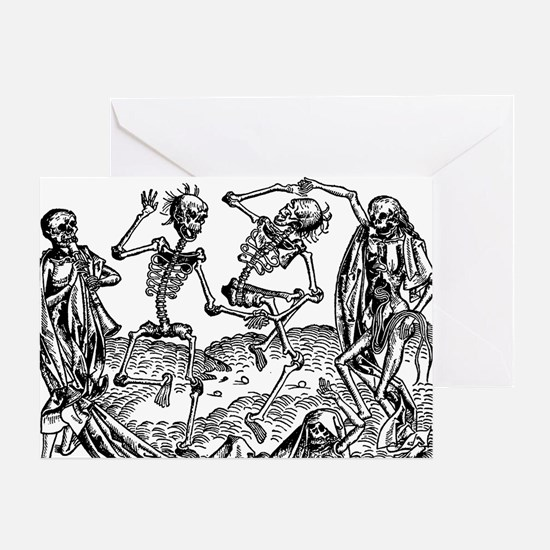 Danse Macabre Greeting Cards