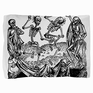 Danse Macabre Pillow Sham