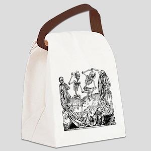 Danse Macabre Canvas Lunch Bag