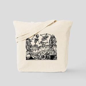 Danse Macabre Tote Bag
