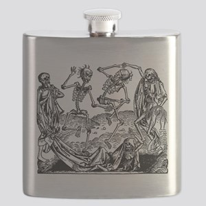 Danse Macabre Flask