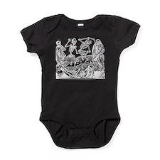 Danse Macabre Baby Bodysuit