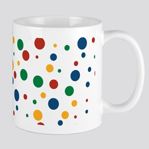 Retro Clowny Dots Mug