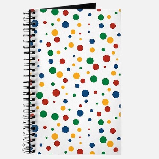 Retro Clowny Dots Journal