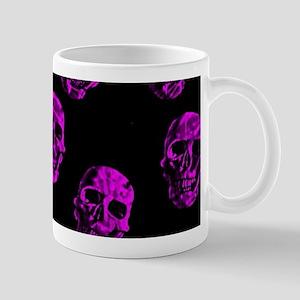 Purple SKULLS Mugs