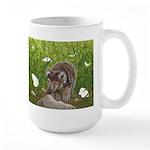 Chasing Butterflies: Large Mug