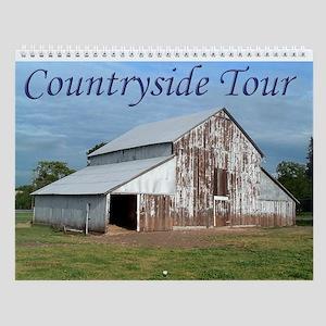 Countryside Tour Wall Calendar