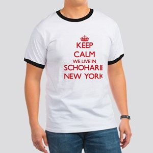 Keep calm we live in Schoharie New York T-Shirt