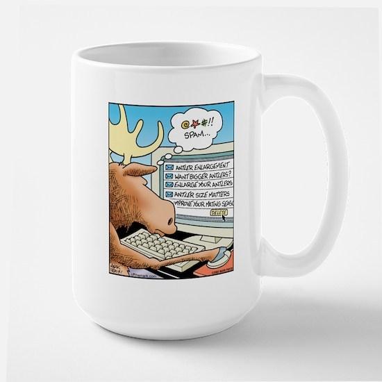 Moose S*X Spam Large Mug