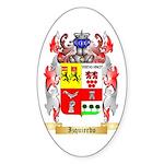 Izquierdo Sticker (Oval 50 pk)