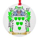 Izod Round Ornament
